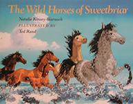 About Natalie's book - The Wild Horses of Sweetbriar